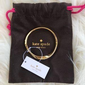 Kate Spade Do The Twist Hinge Bangle